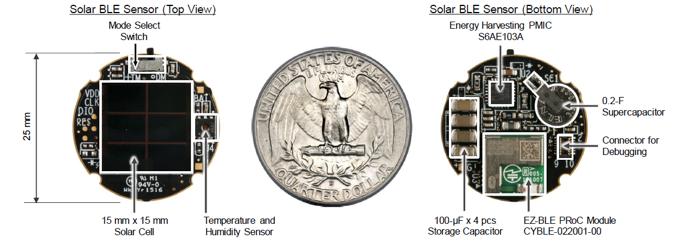 如何开发微型太阳能无线传感器节点