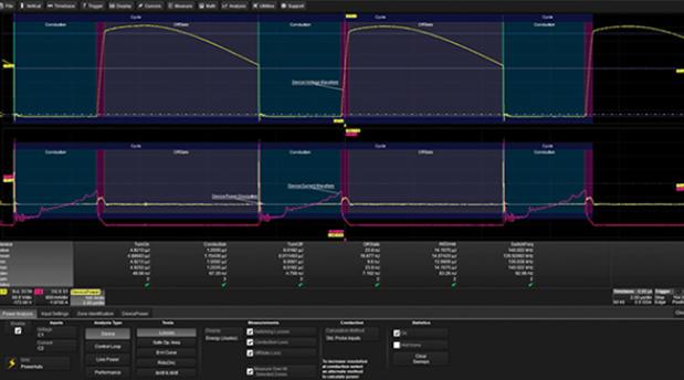 使用专用示波器和软件加快测试开关模式电源