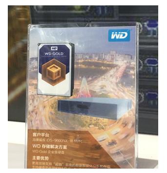西部数据在深圳亮相12TB金盘和10TB紫盘