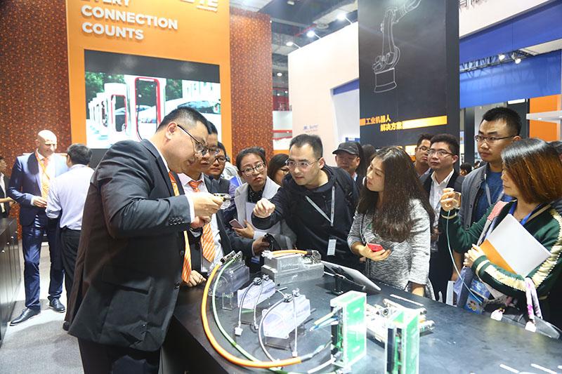 """TE亮相2017 IAS, 展现""""小身材连接大智慧""""硬实力"""
