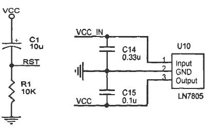 基于stc单片机设计的几个常见硬件电路