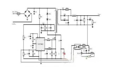 本文基于uc3842高性能电流模式脉冲宽度调制(pwm)发生器控制的开关