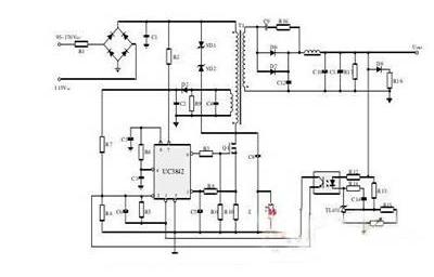 用UC3842芯片做医用开关电源设计方案