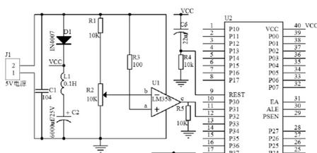 基于lm358单片机掉电保护电路设计