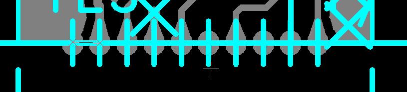 半孔设计要求示意图1