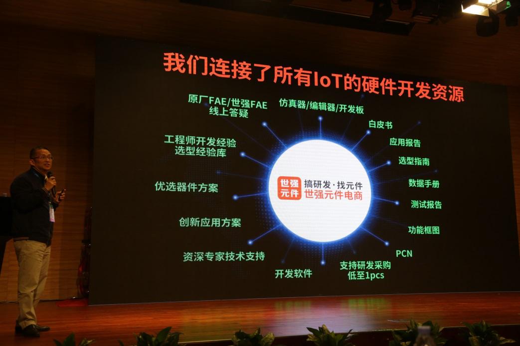 中国IoT大会观察:为什么如此多工程师选择世强元件电商进行物联网研发
