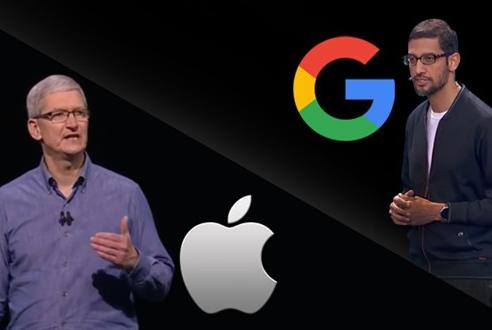 """挖人才、夺市场、苦研发,谷歌真能追上苹果""""步伐""""!"""