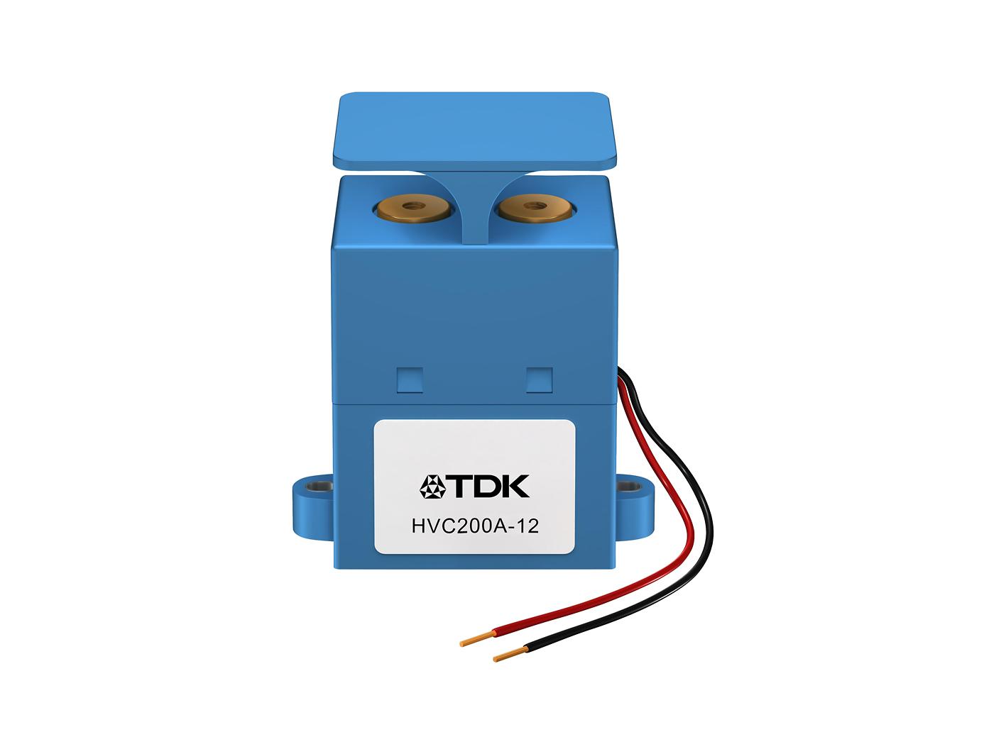 高压直流接触器 续流能力高达 200A