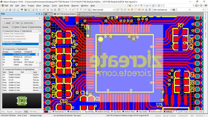 Altium Designer 15常用工作面板详解