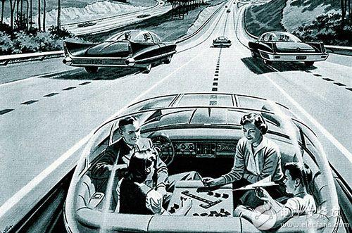 图1 1950年代的人们对自驾车的想像图片来源:维基百科
