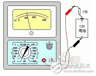 万用表怎么检测电池容量_电池电量