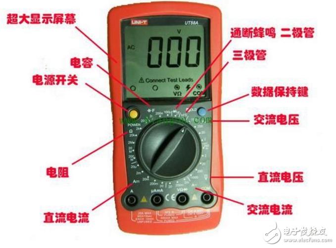 万用表测220v_万用表如何检测电机的好坏 - 通用测试仪器 - 电子发烧友网