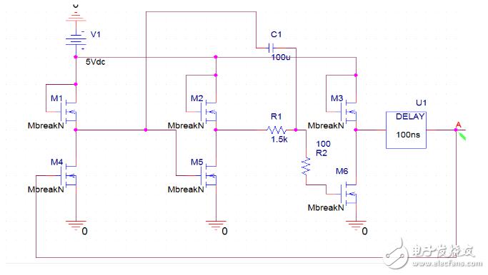环形振荡器介绍_反相器构成环形振荡器