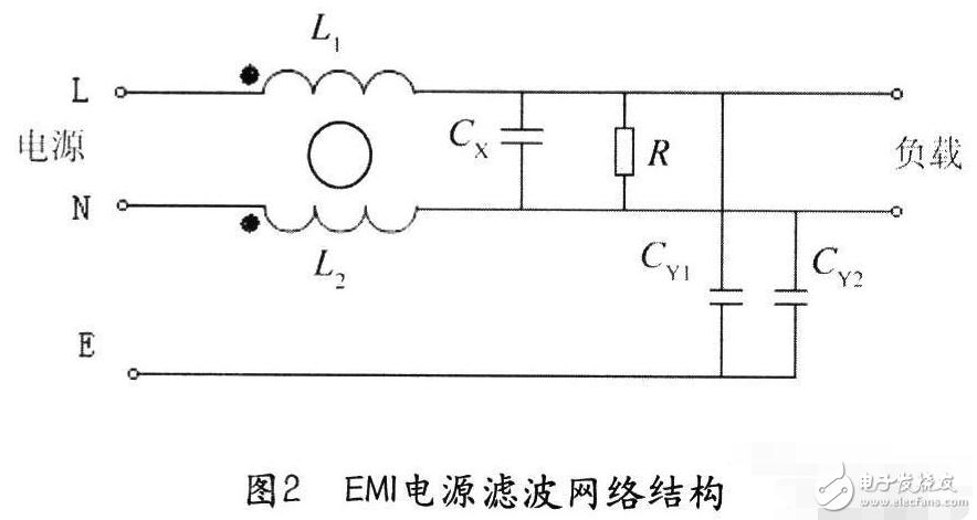 直流电源滤波器原理及内部图