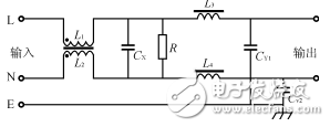 电源EMI滤波器基本原理及结构_电源滤波器性能参数