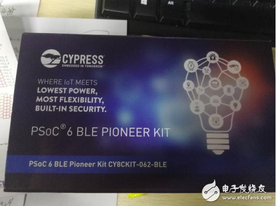 PSoC 6BLE先锋套件,解决下一代IoT设计难题完美起点!