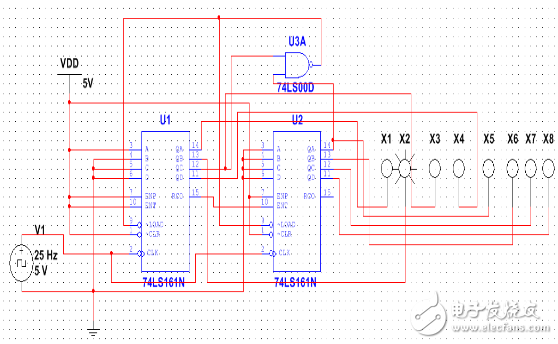 74ls161制作24进制计数器设计