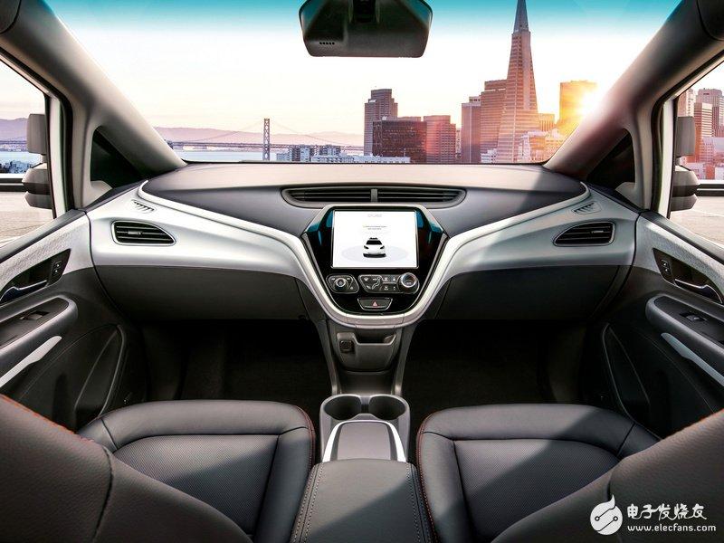 无方向盘和刹车的真正无人车 GM计划明年推出