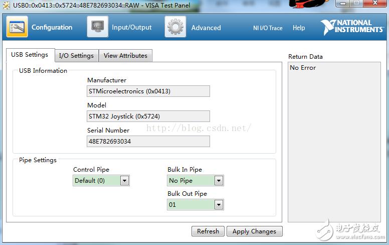 labview怎么调试?基于labview的USB调试教程案例分析