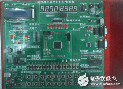 vhdl按键控制数码管显示