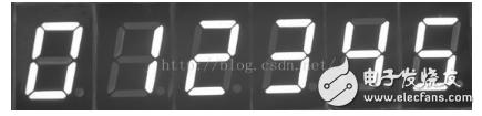 8个数码管静态显示_数码管的动态显示