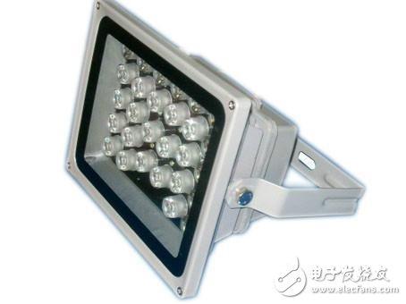监控led补光灯的分类