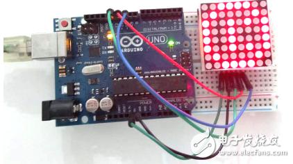 max7219与arduino驱动设计例程