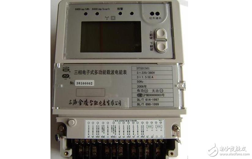 载波电表的窃电方法