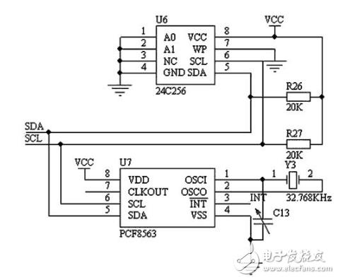 日历时钟和存储电路及键盘和显示电路介绍分析
