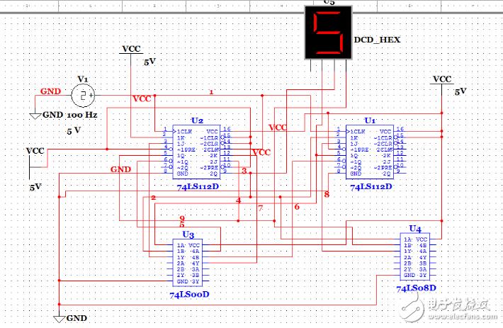 7进制计数器设计方案汇总(三种模拟电路设计过程详细)