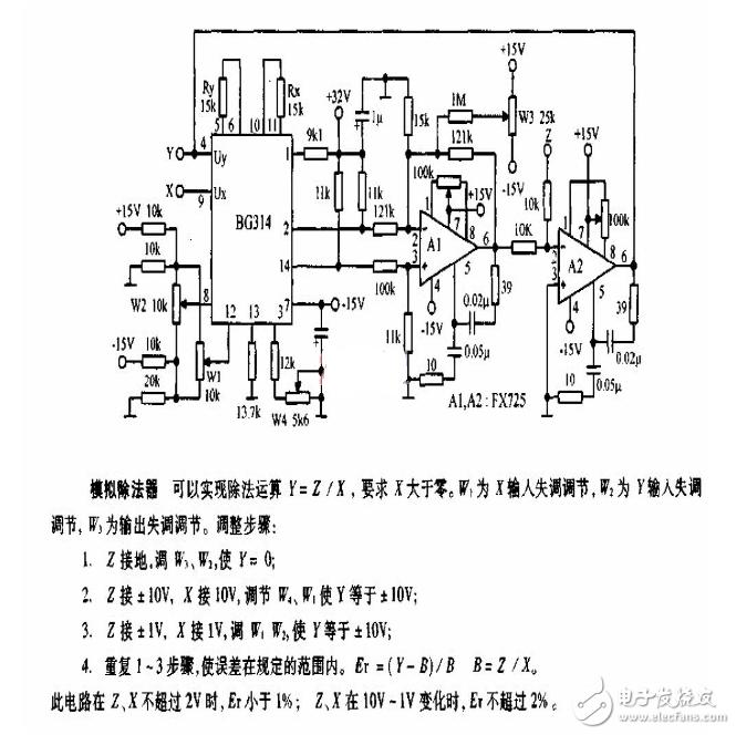除法器电路设计方案汇总(七种设计方案)