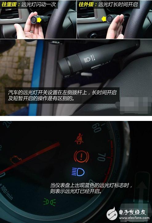 汽车灯光标志大全图解 - 全文