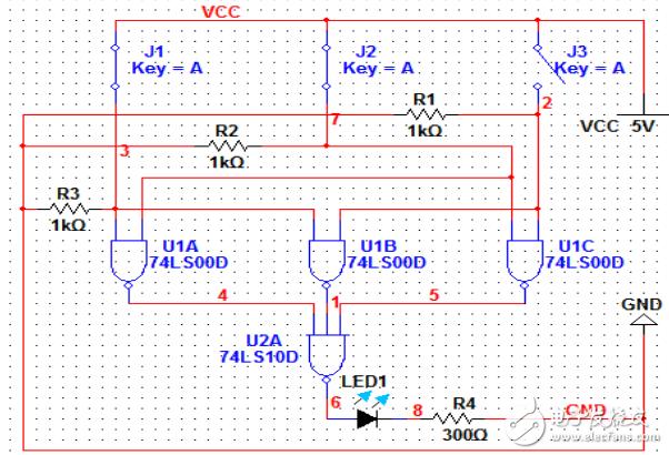 三人表决器电路设计方案汇总(五种设计方案)