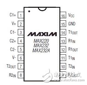 MAX232与51单片机如何连接_MAX232与51单片机连接图