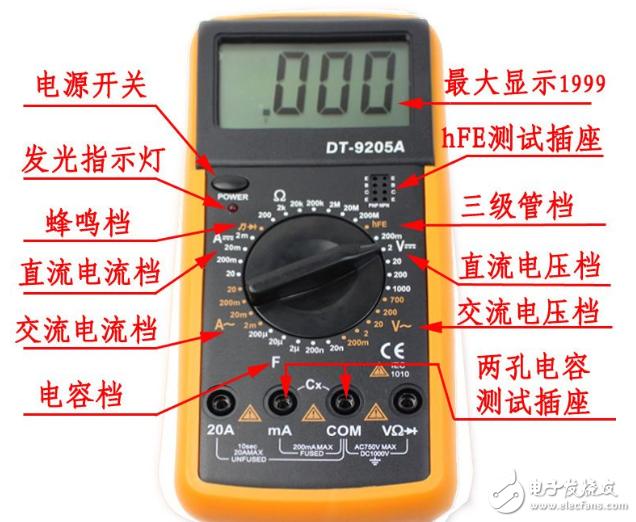 万用表电池多少钱_万用表价格及图片