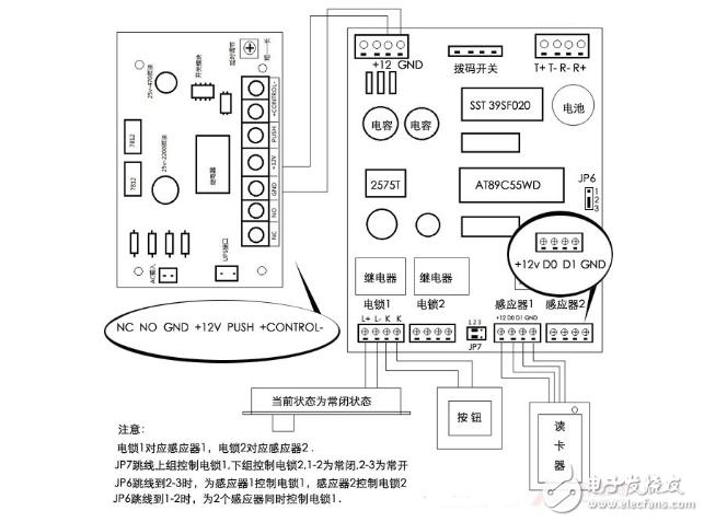 7, 智能电源板和门禁控制器可形成多种组合,适合工程人员现场灵活