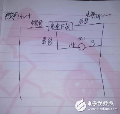 光电开关如何接继电器(图文详细介绍)
