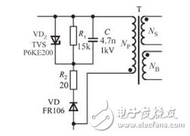 开关电源中的钳位电路图介绍