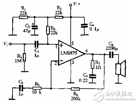 最简单的12v功放电路图(四种功放电路图详解)