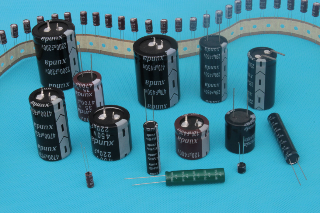 铝电解电容器结构及主要参数