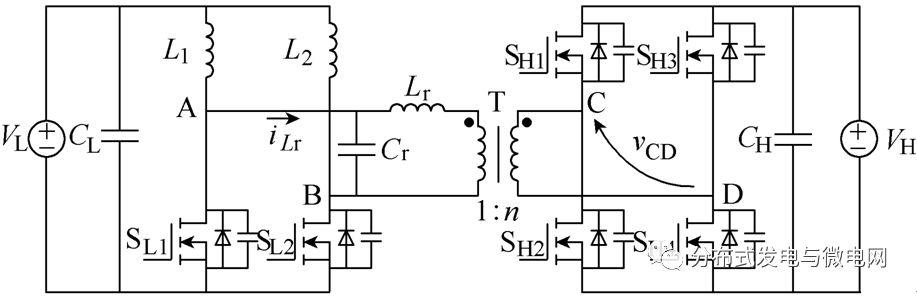 提出一种谐振型高压侧调制的电流型双向变换器 并介绍其优点