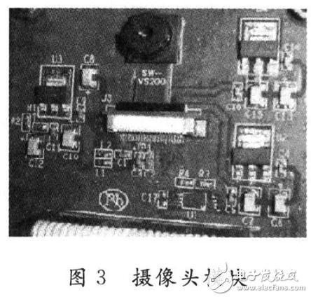 包含有图像传感器OV9650摄像头模块