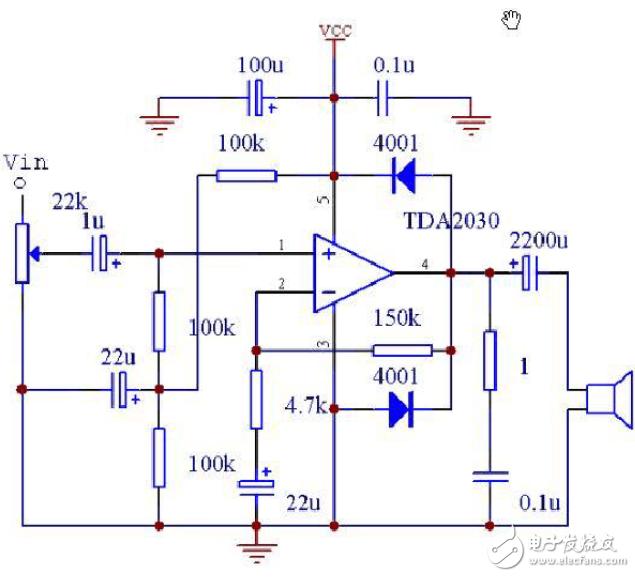 简易大功率功放电路图分享(五款电路图介绍)