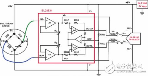 仪表放大器:三运放ina的基础操作简介 - 模拟技术