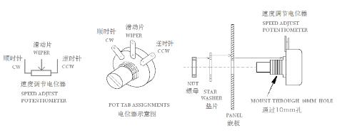 直流调速器接线图(图文详解)