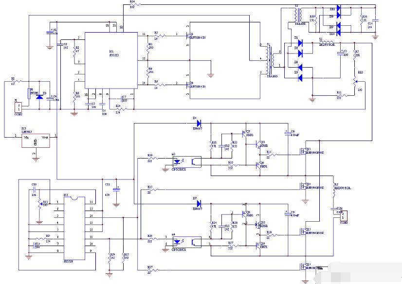 sg3525逆变器电路图大全(几款模拟电路工作原理详解)