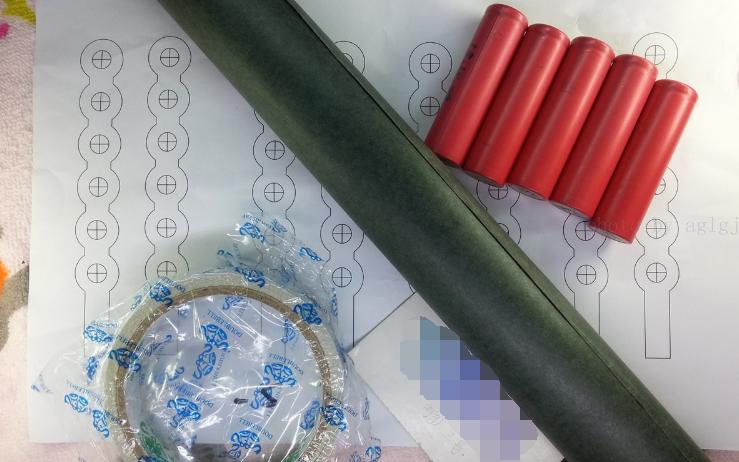 18650锂电池组装方法及过程