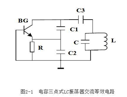 电容三点式lc振荡器_电容三点式LC振荡器实验指导