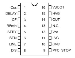 L6599D工作原理(L6599D引脚功能及应用电路)