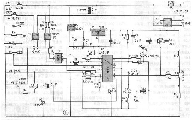 直流电机调速器电路图